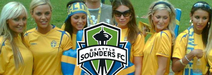 Swedish girls and Sounders go well together.