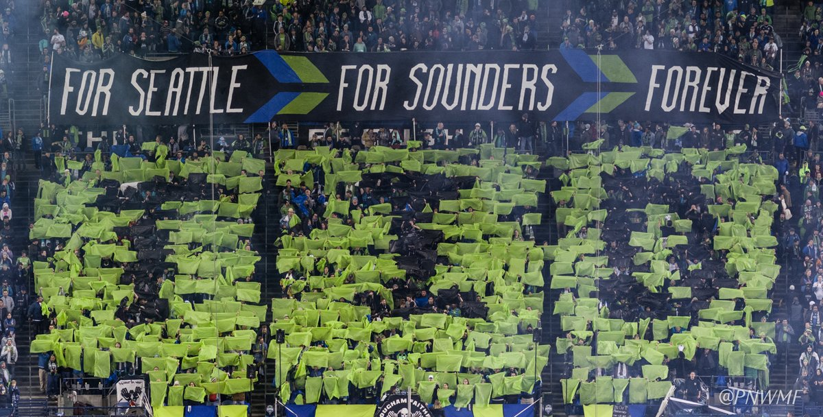 c790250e57d Regardless of results, the play on the field, the weather or car shows, we  give our all FOR SEATTLE, FOR SOUNDERS, FOREVER. We're Sounders Til We Die.
