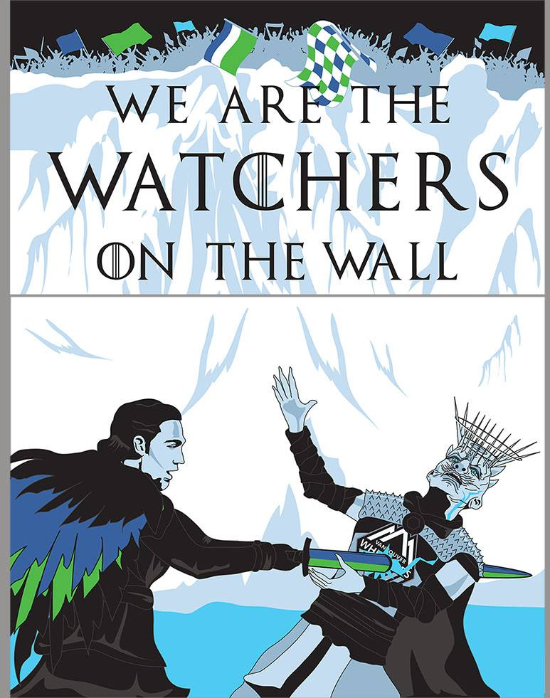 Emerald City Supporters We Are The Watchers On The Wall