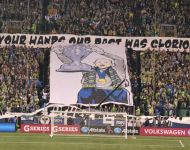 Kasey Keller's final home match -  First display